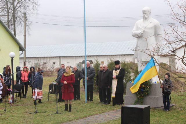 вшанування памяті поета Тараса Шевченка в Сопошині