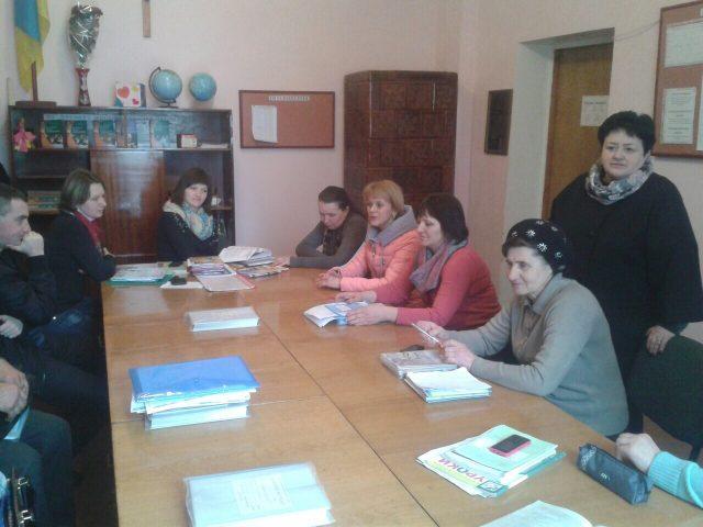 на зустрічі податівців та педагогів Жовківського району