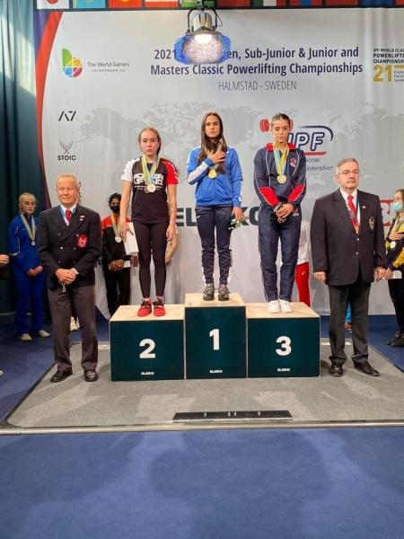 Яворівчанка Софія Станько – чемпіонка світу з класичного пауерліфтингу серед дівчат
