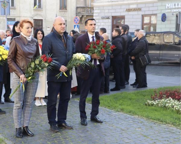 Львівщина відзначає 155-ту річницю з дня народження Михайла Грушевського