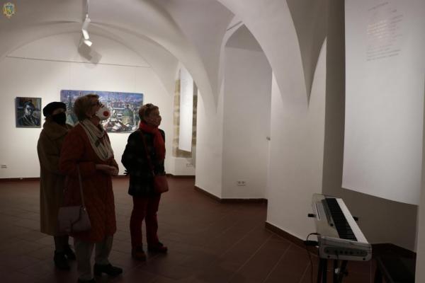 Діалог поза часом: у музеї Андрея Шептицького відкрили виставку до 95-річчя Володимира Патика